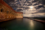 ft. jefferson, dry tortugas, moon, fort jefferson, florida, south florida, nature, photography