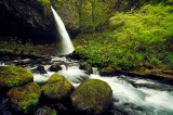 Columbia, River, Gorge, Oregon, ponytail falls, waterfall, spring