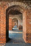 ft. jefferson, brick, hallway, arch, dry tortugas, florida, fort jefferson, keys, south florida, nature, photography