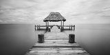 dock, belize, placencia, atlantic