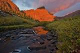 Sangre de Cristo Mountains, Colorado, crestone needle, sunrise