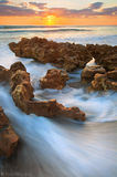 sunrise, atlantic ocean, jupiter, island, coral cove, anastasia formation, florida, south florida, nature, photography