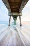 vero beach, florida, sunrise, beach, pier