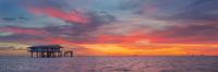 Stiltsville Sunset print