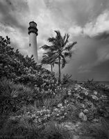 Cape Florida Lighthouse print