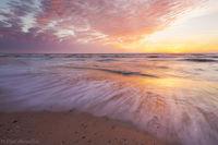 San Blas Sunset print