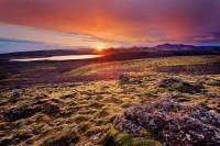 Laki Sunset print