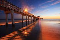 Ft. Myers Beach Pier print