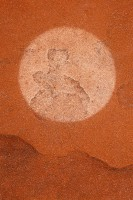 Sandstone Circle print