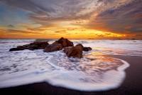 Poneloya Sunset print