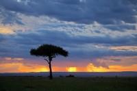 Stormy Mara Sunset print