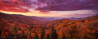 Sunrise in the Smokies print