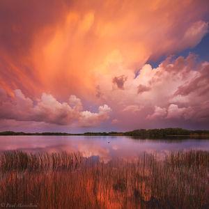 Nine Mile Pond, Everglades National Park, Florida, sunset, nature, photography, florida national parks