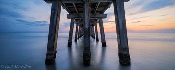 sunset, naple's pier, naples, florida, , nature, photography