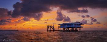 stiltsville, sunrise, miami, florida, nature, photography