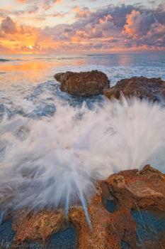 blowing rocks, jupiter, island, waves, anastasia formation, coral cove, florida, south florida, nature, photography