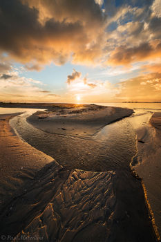 stream, sunset, ft myers beach, bowditch point park, florida, south florida, nature, photography,