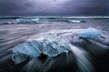 JsᲬ, Iceland, iceberg, sea, coastal, blue, limited edition, landscape, ocean, seascape,J
