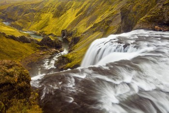 iceland,waterfall