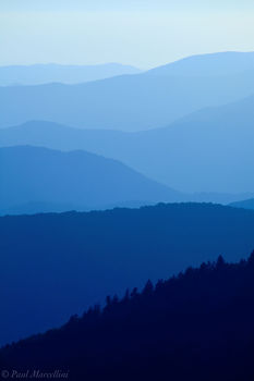 Great Smoky Mountains National Park, Tennessee, layers, appalachian