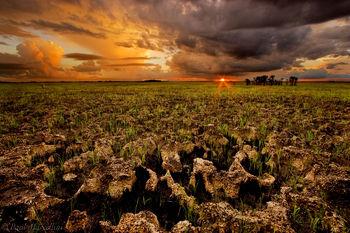 everglades, fire, sunset, stormy, Florida, nature, photography, florida national parks