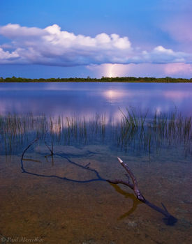 lightning, lake, everglades, Florida, nature, photography, florida national parks