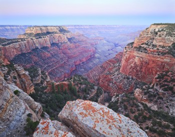 North Rim, Grand Canyon, National Park, Arizona, pre-dawn