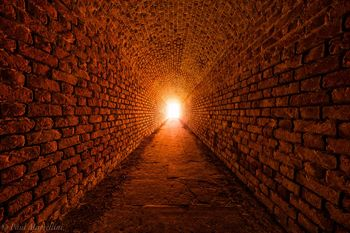Fort Clinch, Amelia Island, Florida, tunnel