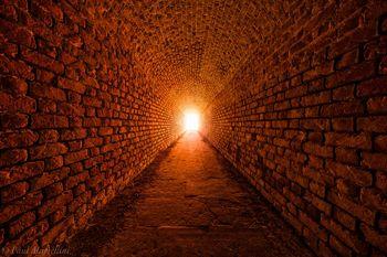 Fort Clinch, Amelia Island, Florida, tunnel