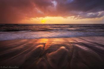 Cape San Blas, St. Joseph Peninsula State Park, Florida, stormy, beach