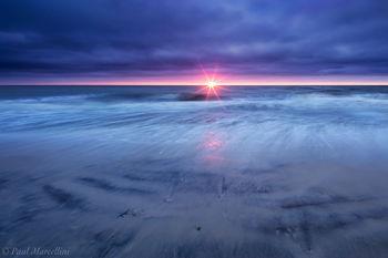 St. Joseph Peninsula State Park, Florida, sunset, clouds