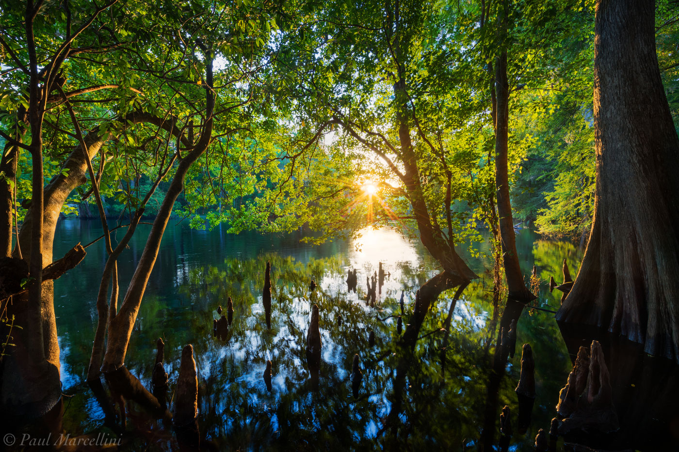 santa fe, river, florida, sunset, nature, photography, photo