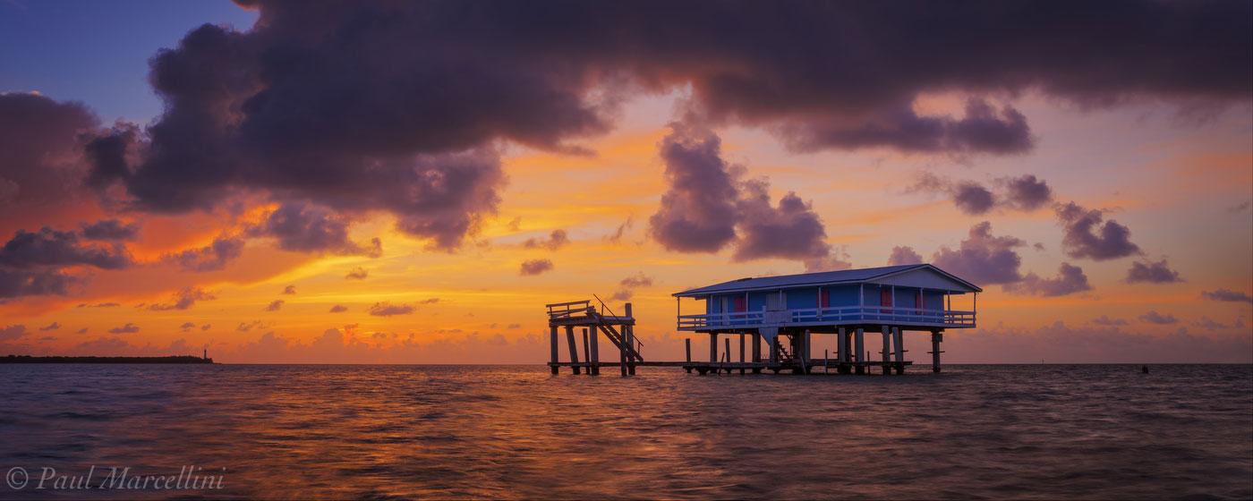 stiltsville, sunrise, miami, florida, nature, photography, photo