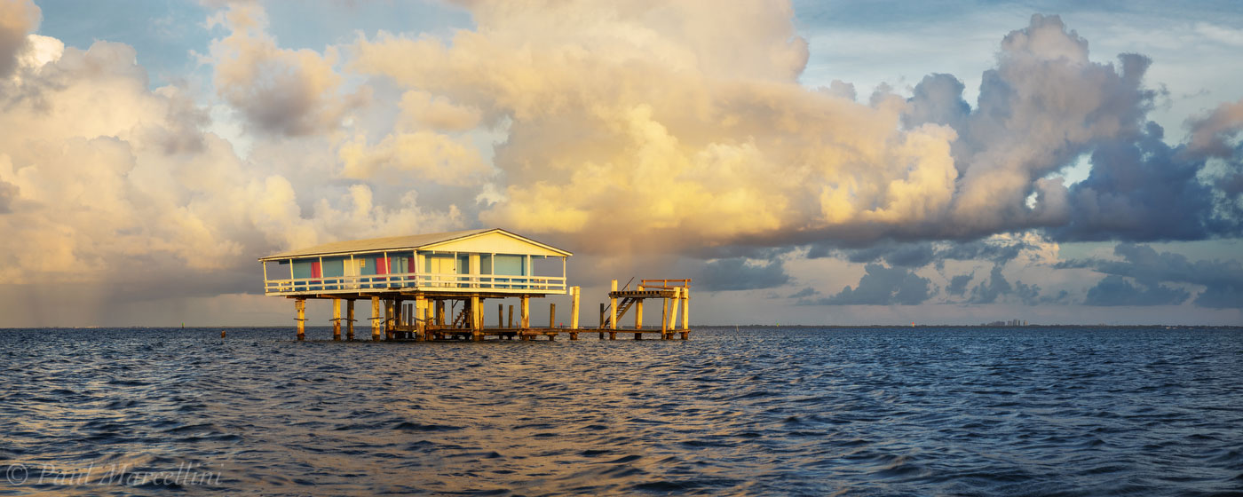 stiltsville, ellenburg house, biscayne national park, florida, nature, photography, photo