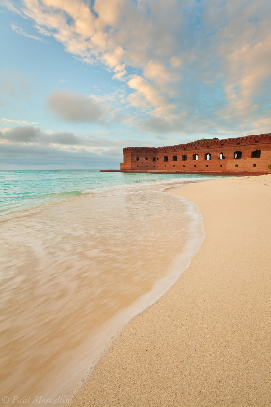 wave, ft. jefferson, dry tortugas, sunset, florida, fort jefferson, keys, south florida, nature, photography, , photo