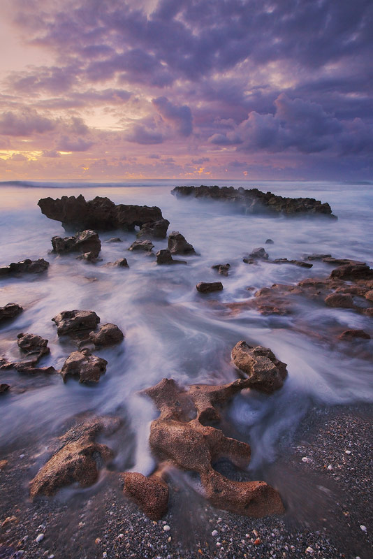 wave, anastasia formation, atlantic ocean, sunrise, jupiter, island, coral cove, florida, south florida, nature, photography, photo