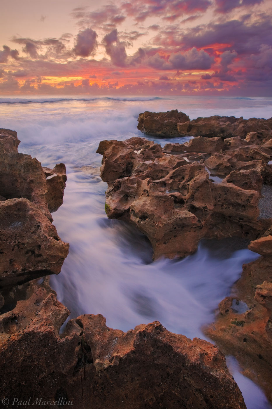 anastasia formation, coral cove, waves, sunrise, atlantic ocean, jupiter, florida, south florida, nature, photography, photo