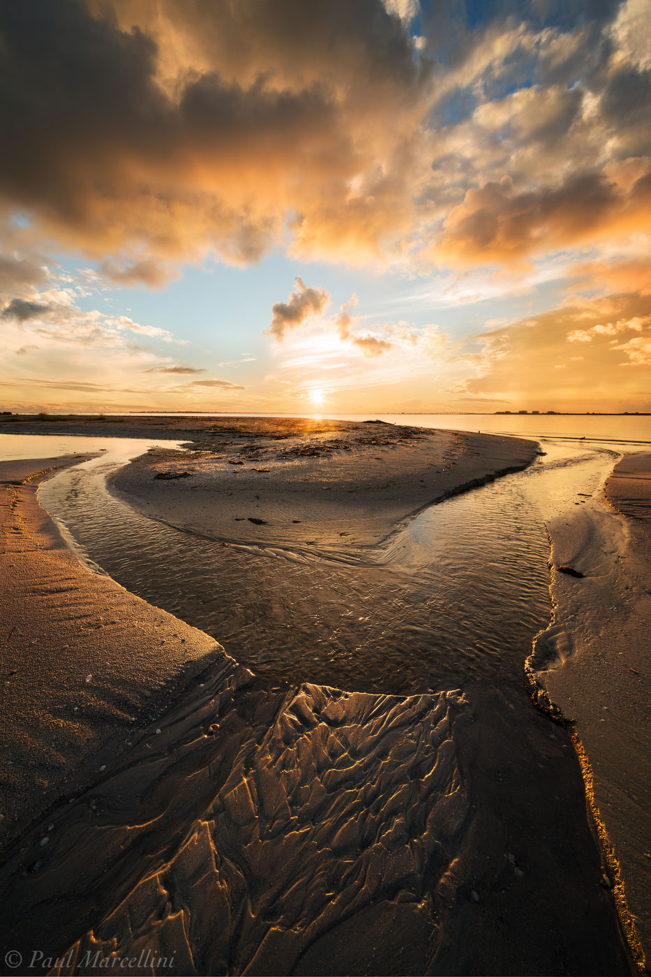 stream, sunset, ft myers beach, bowditch point park, florida, south florida, nature, photography, , photo