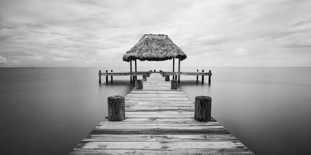 dock, belize, placencia, atlantic, photo