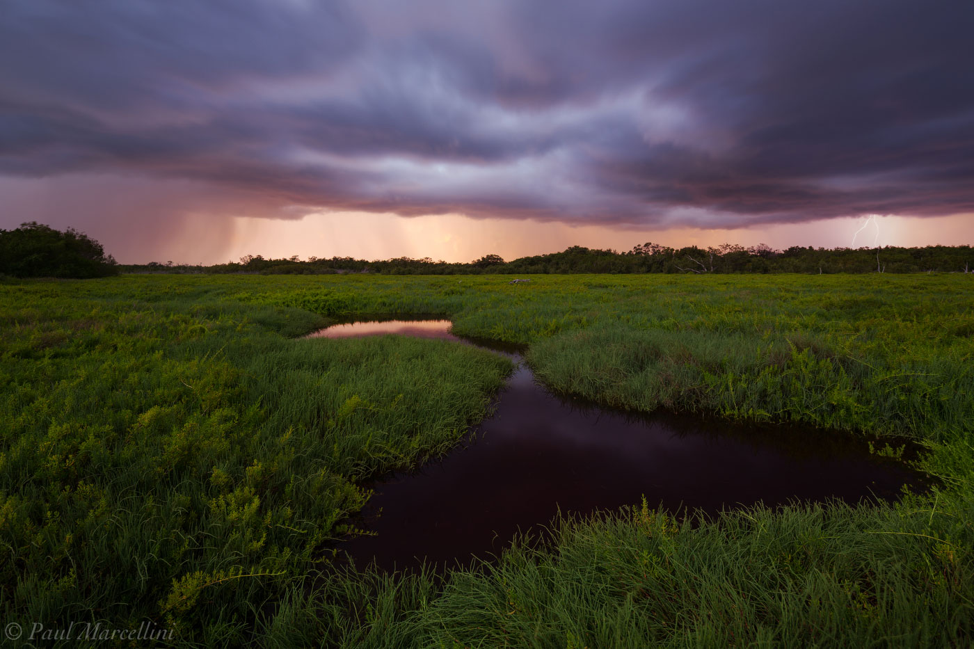 storm, sunset, saltmarsh, Everglades National Park, Florida, nature, photography, florida national parks, photo