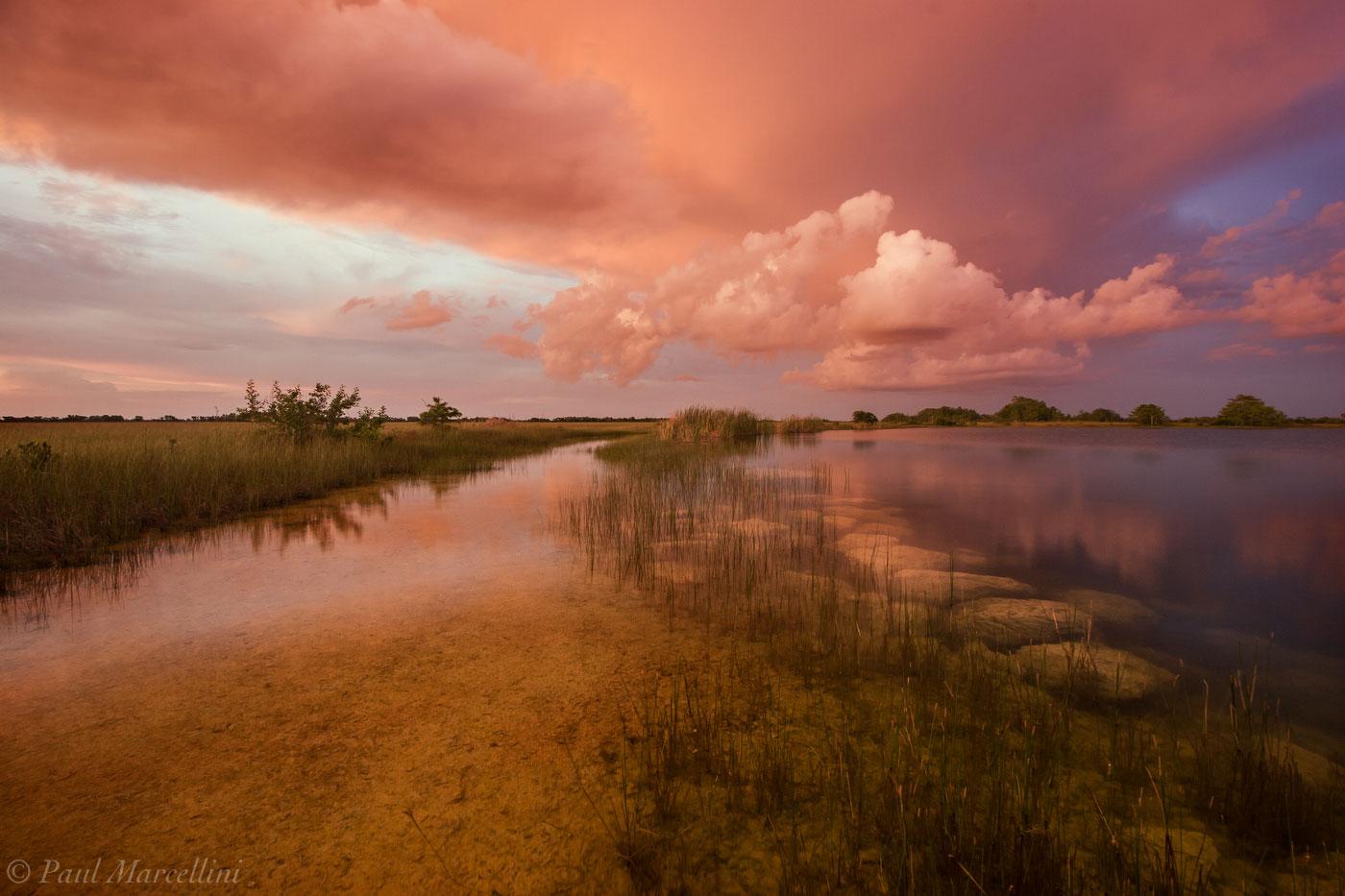 everglades, light, sunset, pond, Florida, nature, photography, florida national parks, photo