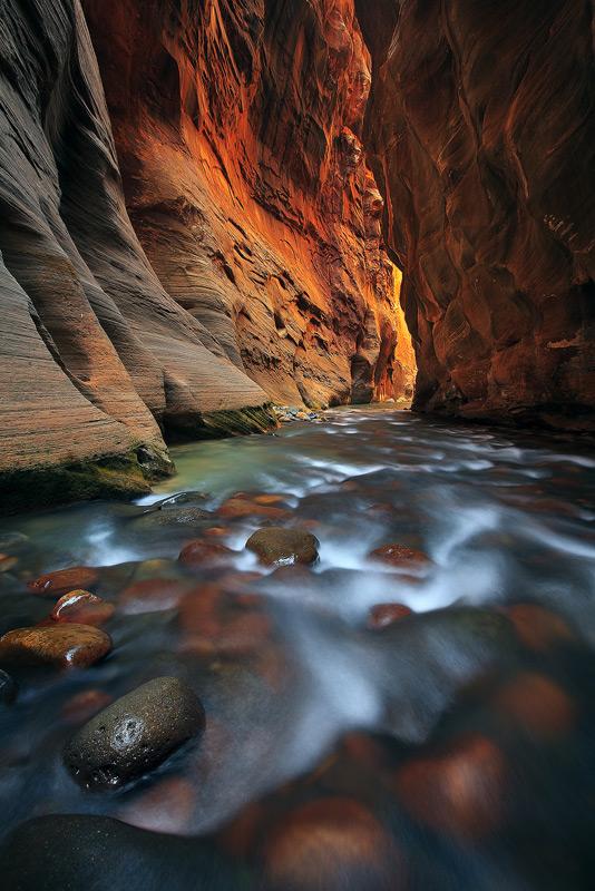 Virgin River, Zion, National Park, Utah, narrows, photo