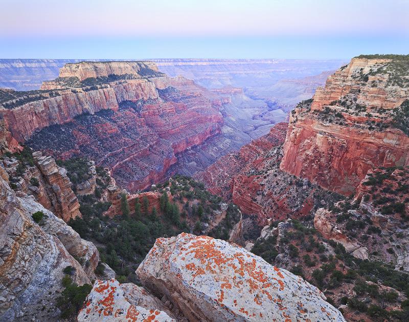 North Rim, Grand Canyon, National Park, Arizona, pre-dawn, photo