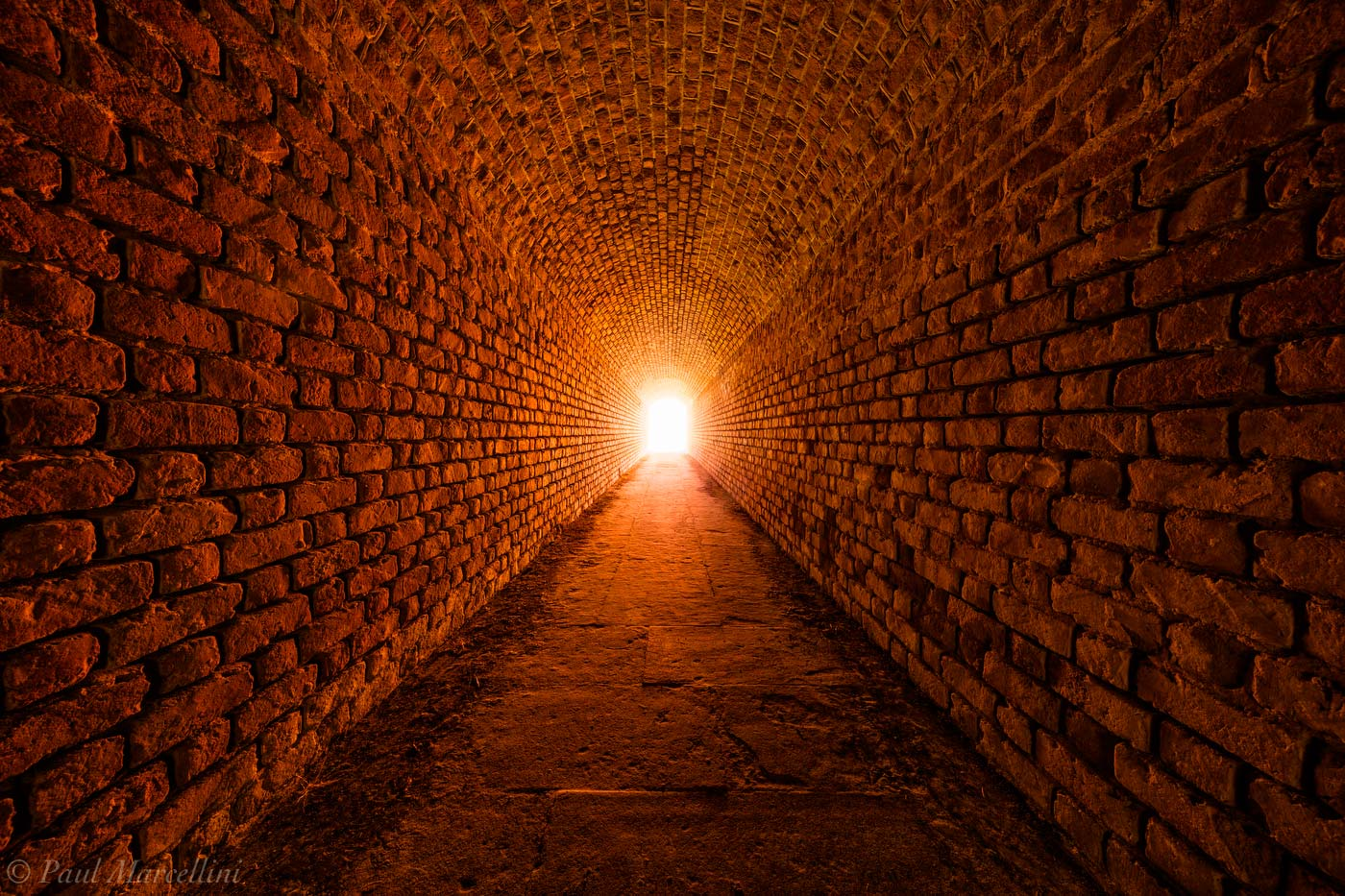 Fort Clinch, Amelia Island, Florida, tunnel, photo