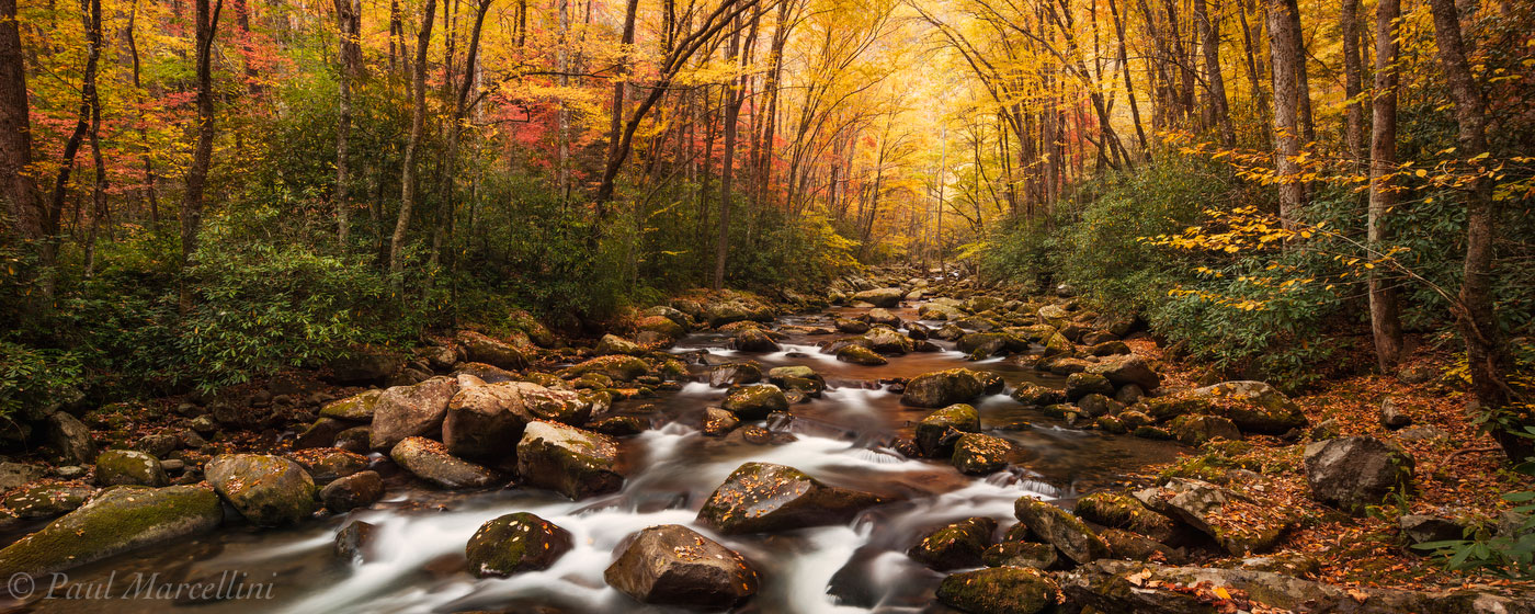 Great Smoky Mountain National Park, Tennessee, fall, stream, smokies, photo
