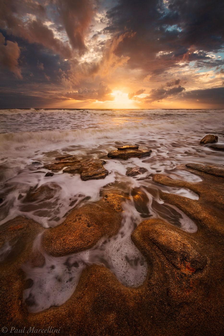 washinton oaks state park,  florida, sunrise, photo